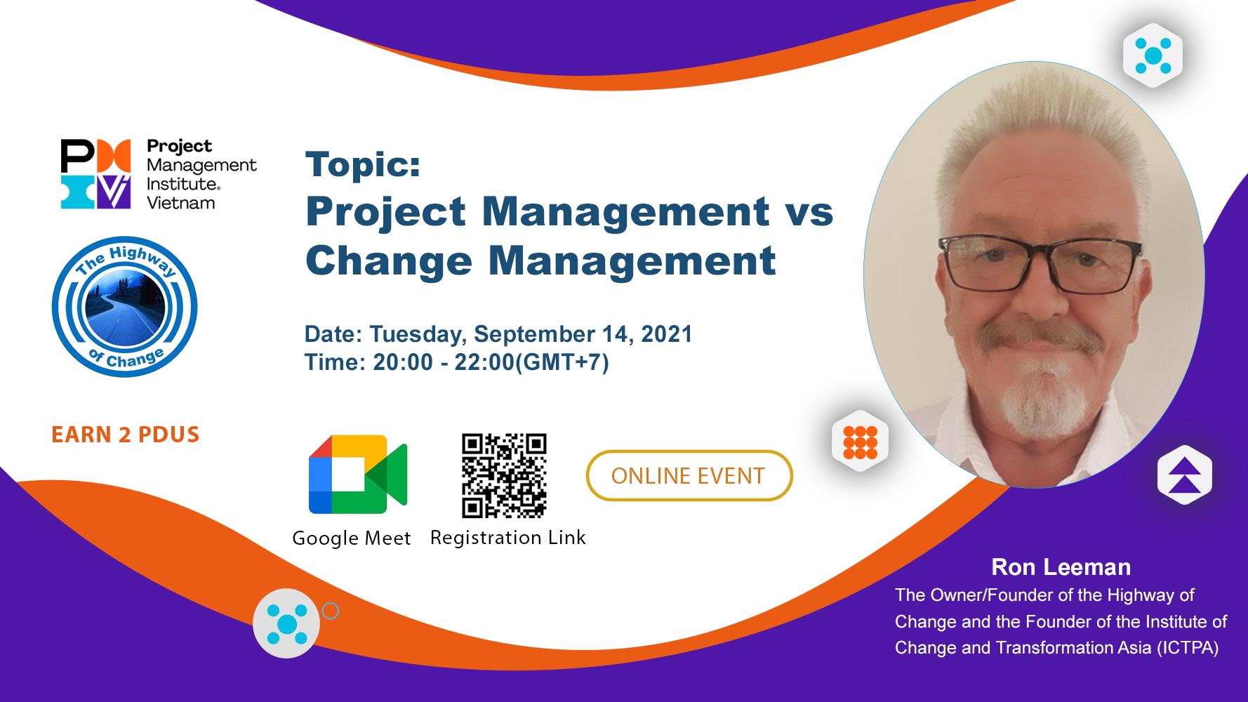 Project Management vs Change Management